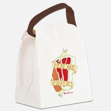 Meat And Potatoes Canvas Lunch Bag