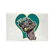 Iguana Lover Rectangle Magnet