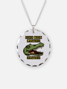Later Alligator Necklace