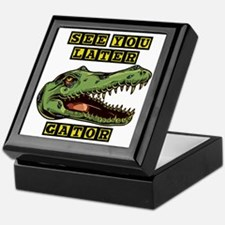 Later Alligator Keepsake Box