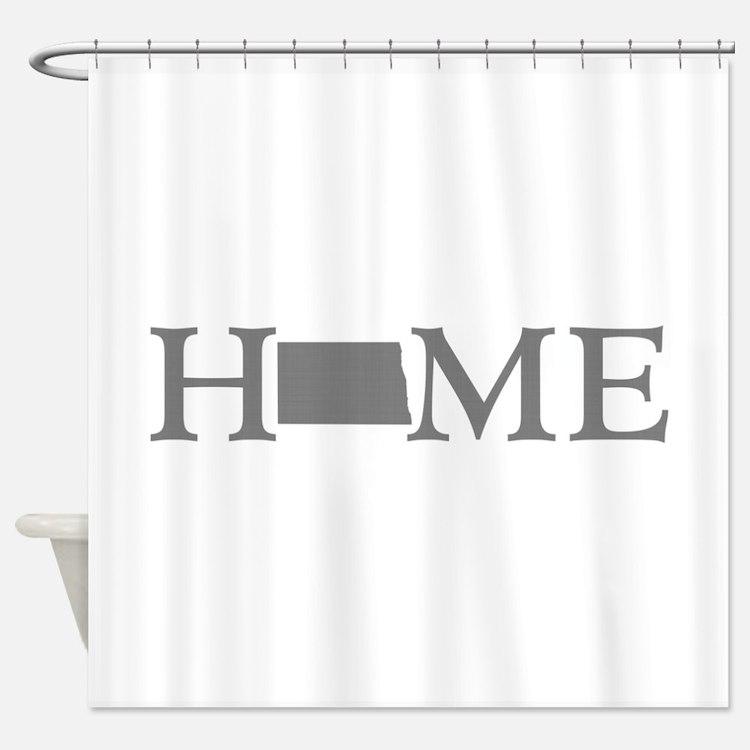 North Dakota Shower Curtain