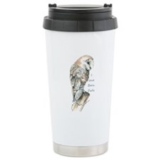I love Barn Owls Fun Quote Travel Mug