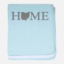Ohio Home baby blanket