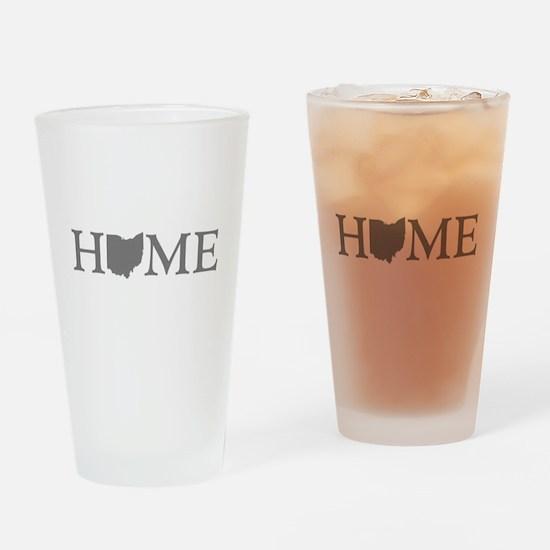 Ohio Home Drinking Glass