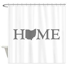 Ohio Home Shower Curtain