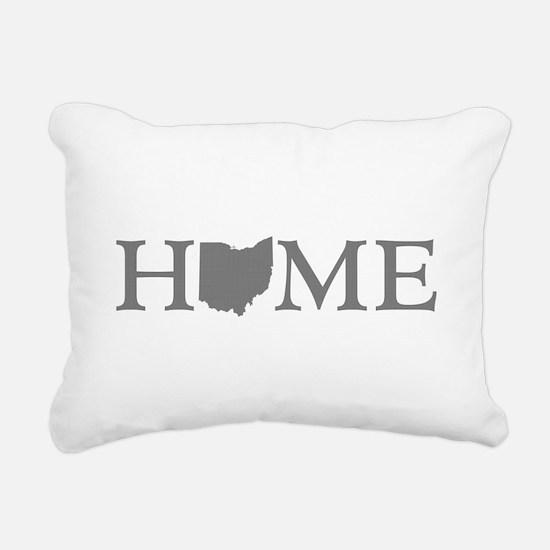 Ohio Home Rectangular Canvas Pillow