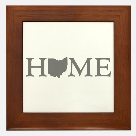 Ohio Home Framed Tile