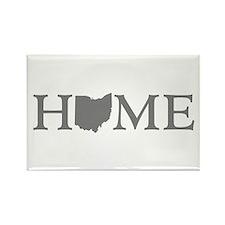 Ohio Home Rectangle Magnet