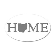 Ohio Home 35x21 Oval Wall Decal