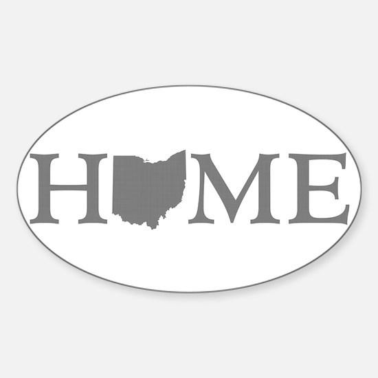 Ohio Home Sticker (Oval)