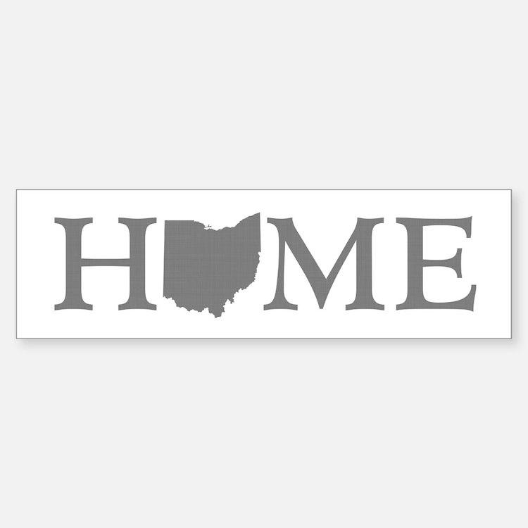 Ohio Home Bumper Bumper Sticker