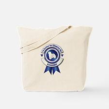 Showing Komondor Tote Bag