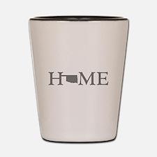 Oklahoma Home Shot Glass