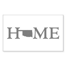 Oklahoma Home Decal