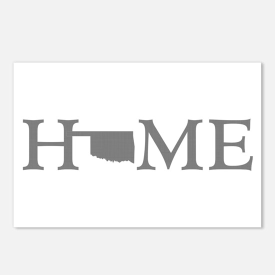 Oklahoma Home Postcards (Package of 8)