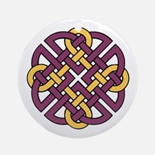 Celtic Knot 4 Ornament (Round)