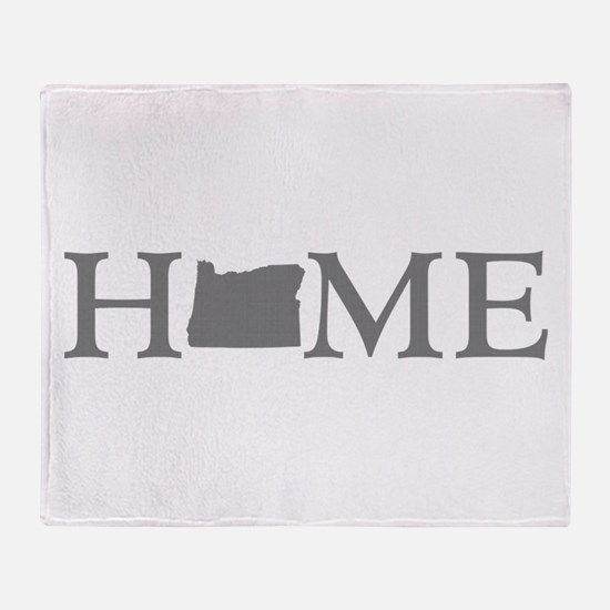 Oregon Home Throw Blanket