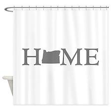Oregon Home Shower Curtain