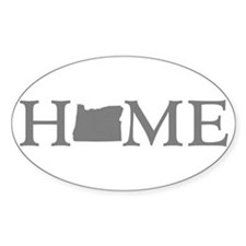 Oregon Home Decal