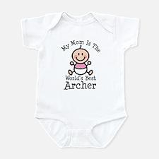 Best Archer Mom Infant Bodysuit