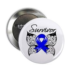 "Survivor Colon Cancer 2.25"" Button"