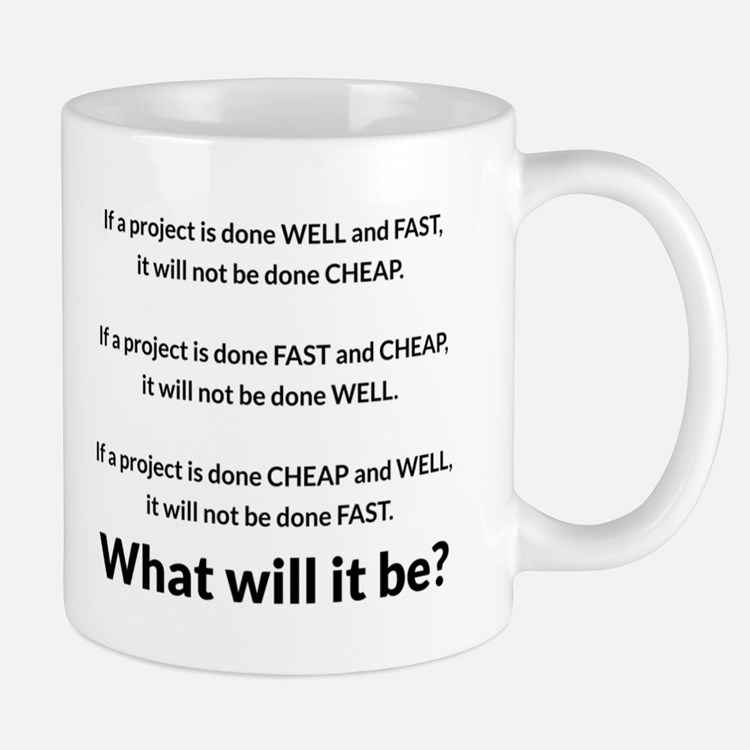 Project Management Mugs