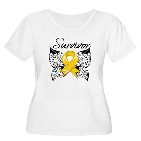 Survivor Chil Women's Plus Size Scoop Neck T-Shirt