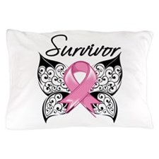 Survivor Breast Cancer Pillow Case