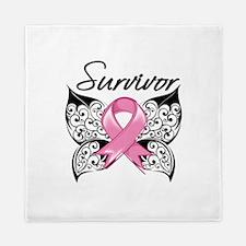 Survivor Breast Cancer Queen Duvet