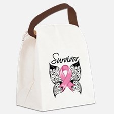 Survivor Breast Cancer Canvas Lunch Bag