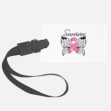 Survivor Breast Cancer Luggage Tag