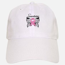 Survivor Breast Cancer Baseball Baseball Cap