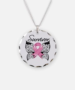 Survivor Breast Cancer Necklace