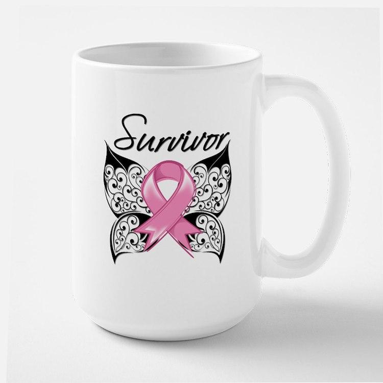 Survivor Breast Cancer Mug