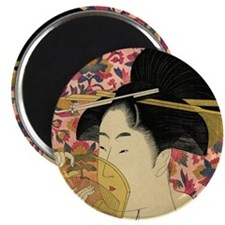 Japanese woman Magnets