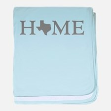 Texas Home baby blanket