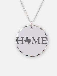 Texas Home Necklace
