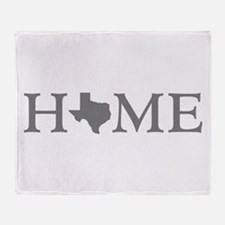 Texas Home Throw Blanket