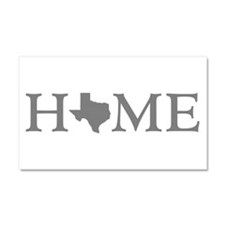 Texas Home Car Magnet 20 x 12