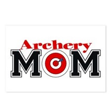 Archery Mom Postcards (Package of 8)