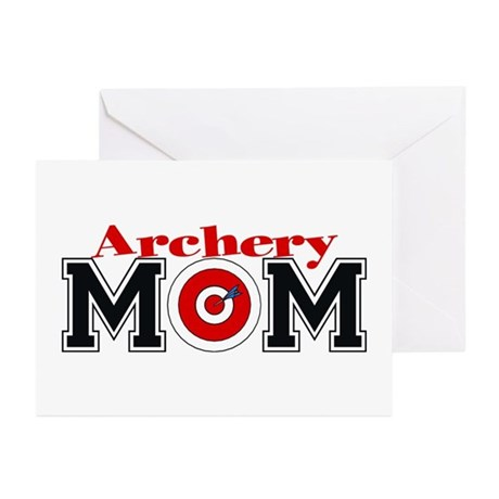 Archery Mom Greeting Cards (Pk of 10)