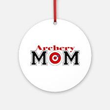 Archery Mom Ornament (Round)