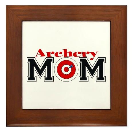 Archery Mom Framed Tile