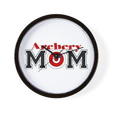 Archery Mom Wall Clock
