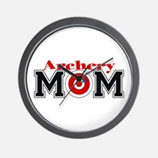 Archery Mom Wall Clock