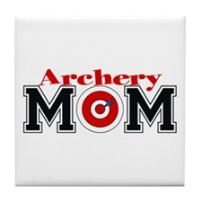 Archery Mom Tile Coaster