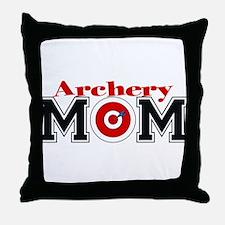 Archery Mom Throw Pillow