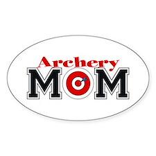 Archery Mom Oval Decal