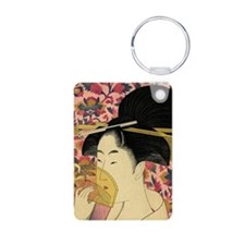 Japanese woman Keychains