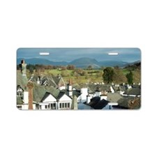 View over the rooftops of H Aluminum License Plate